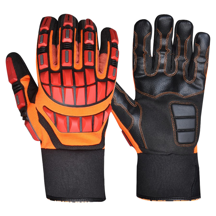 TPR Rubber Reinforce Impact Gloves