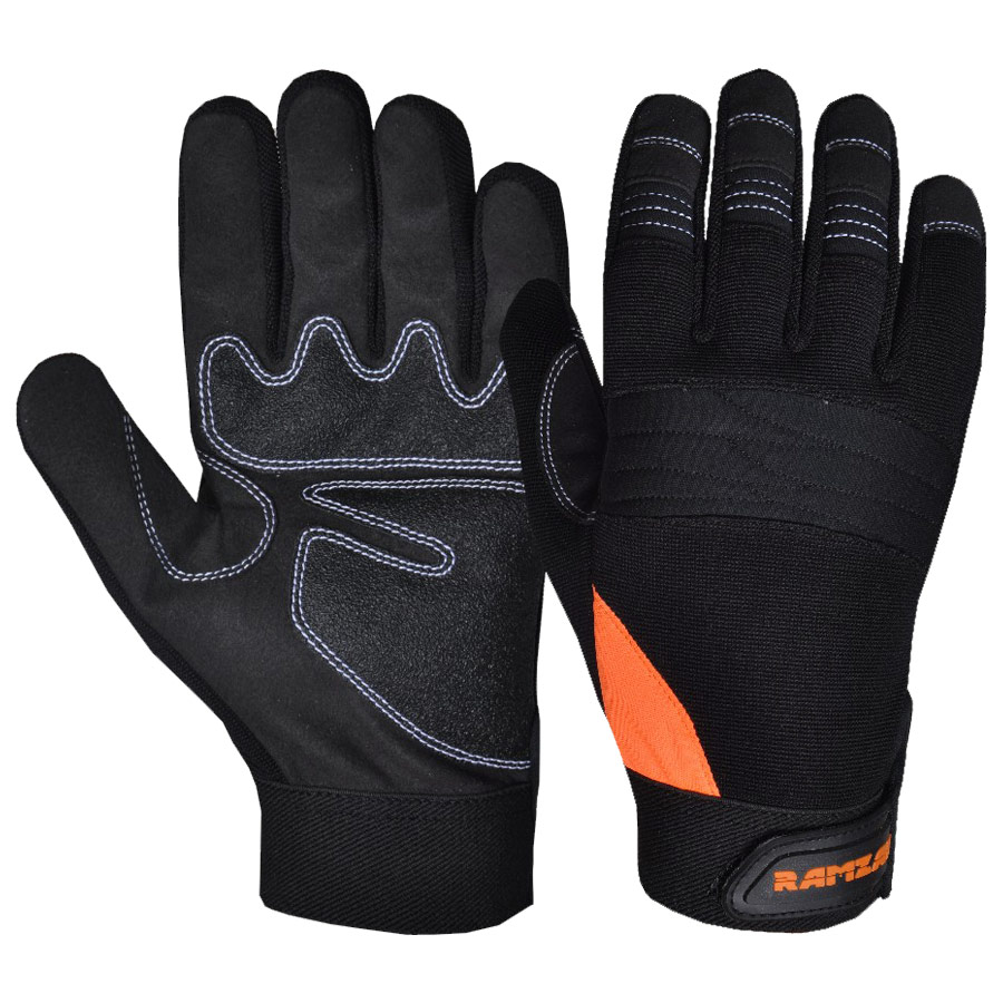 Spandex Mechanics Gloves