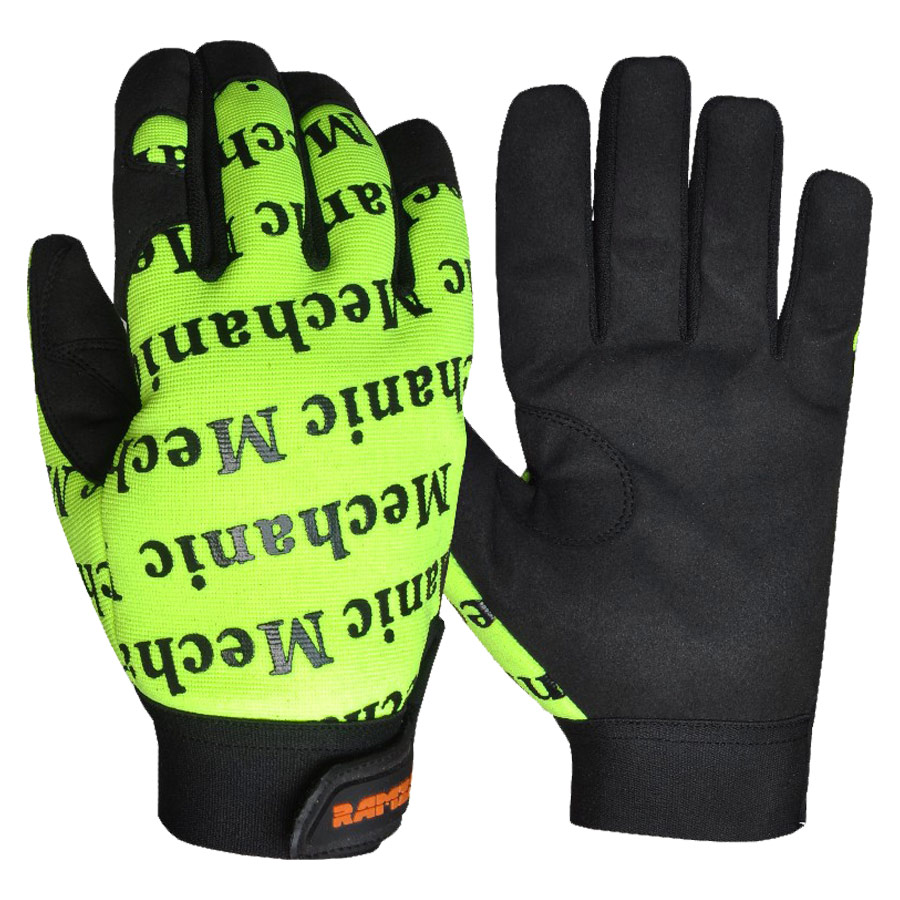Hand protection mechanics gloves