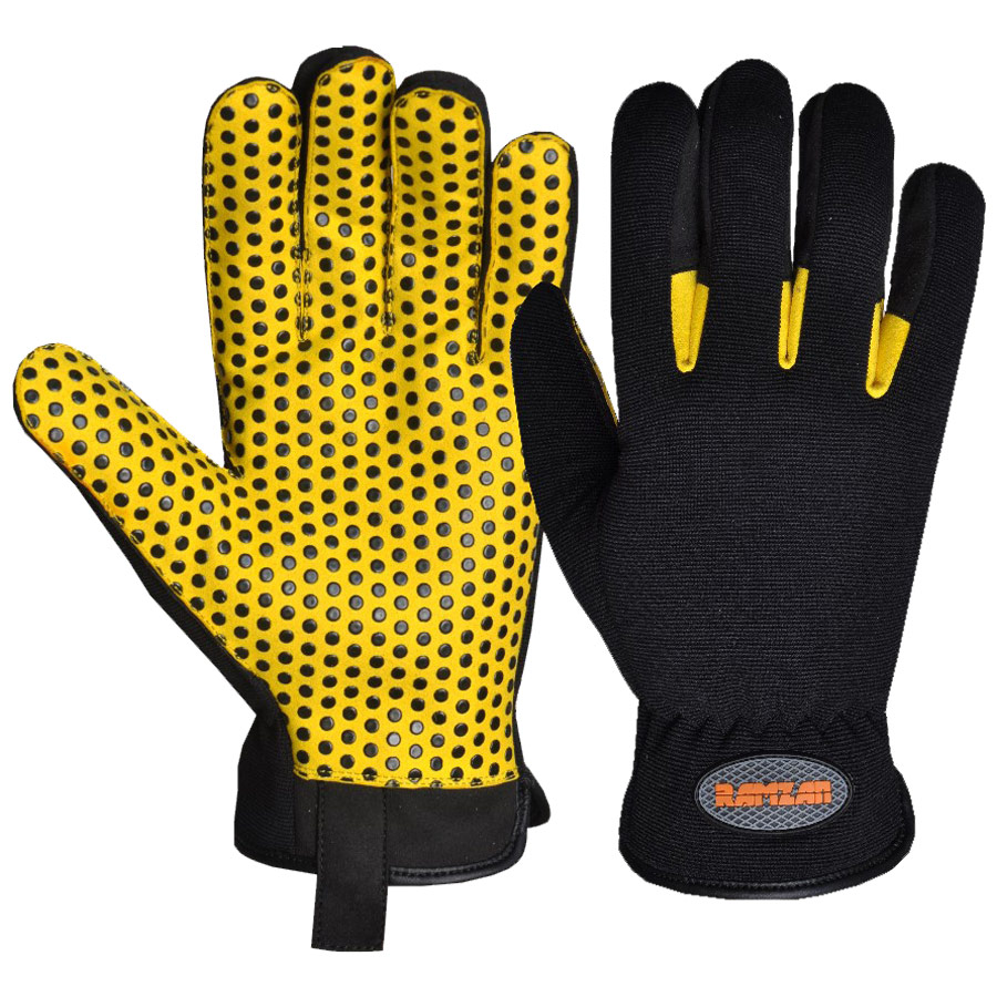 Industrial mechanics gloves