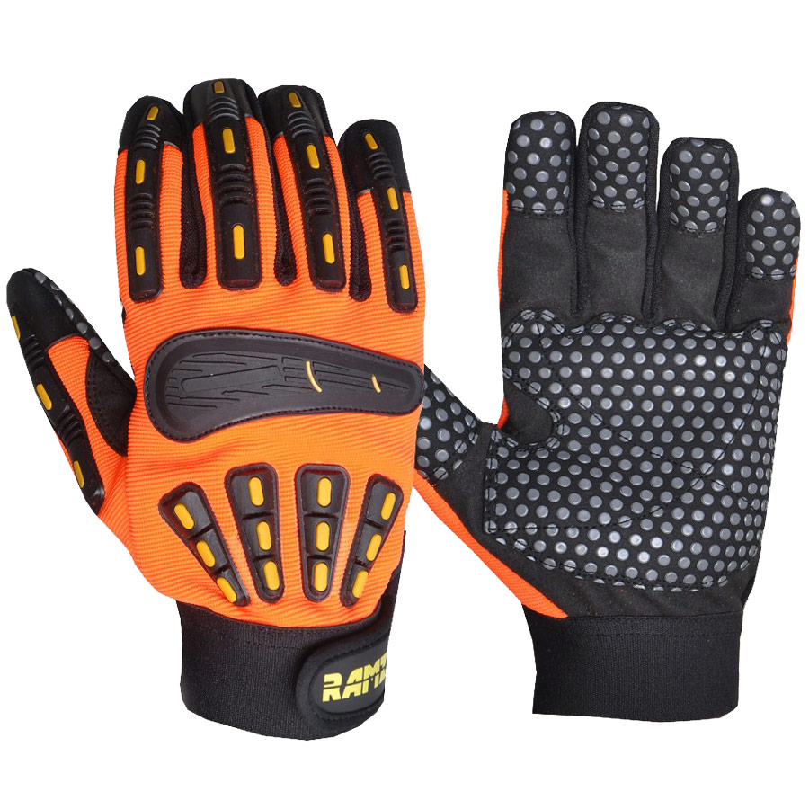 Oil and gas industry impact gloves